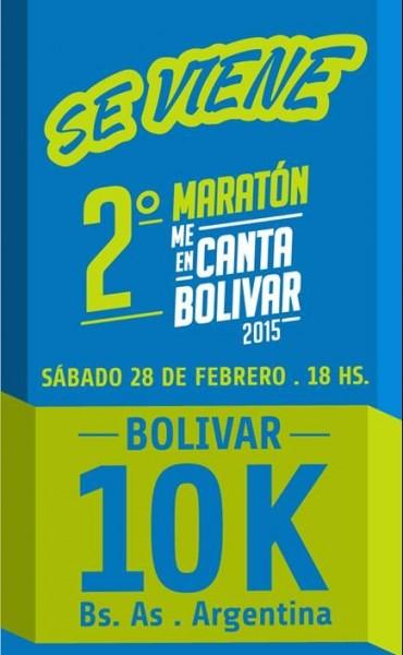 Se viene la segunda edición de la Maratón Me Encanta Bolívar