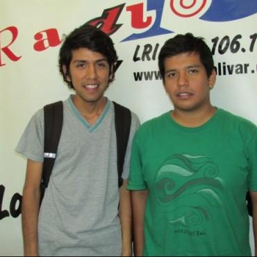 Dos jóvenes peruanos fueron víctimas del robo de todas sus pertenencias cuando venían a estudiar al CRUB