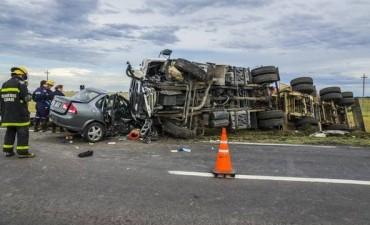 Azul: Nuevo accidente de tránsito en la ruta 3