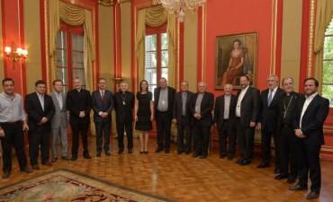 Gobernación Buenos Aires: Vidal recibió a obispos de la Provincia de Buenos Aires