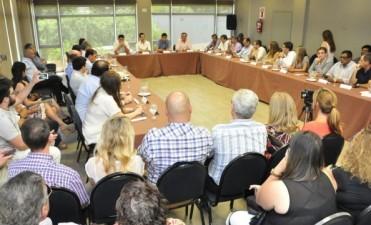 Mosca y De La Torre lanzaron en Junín las mesas seccionales de Cambiemos