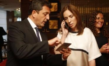 Un proyecto de transparencia genera los primeros roces del año entre Vidal y Massa