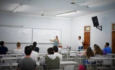 CRUB: Comenzó el curso nivelatorio de Ingeniería