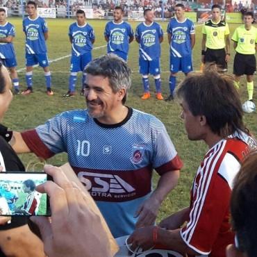 Ariel Ortega: 'Ya no me entreno como antes, lo sigo haciendo porque amo el fútbol'