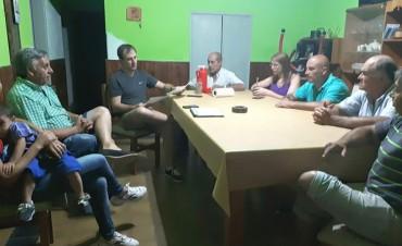 José Erreca se reunió con los vecinos de Plaza Roca