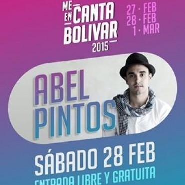 Abel Pintos estará en MeEncanta Bolívar como lo confirmó FM10 dias anteriores