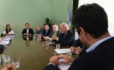 Funcionarios Municipales participaron de una reunión con Mosca