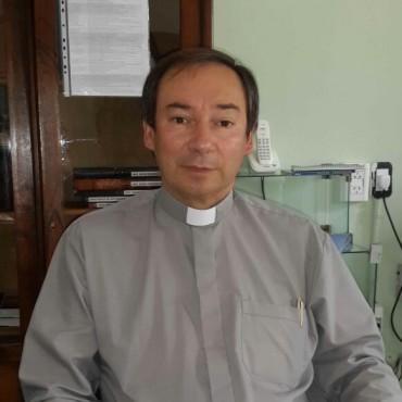 Desde el 9 de febrero, Mauricio Scoltore asumió como el nuevo párroco de Bolívar