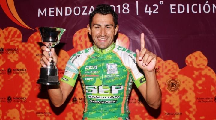 Vuelta de Mendoza: Juan Pablo Dotti ganó la segunda etapa en San Rafael