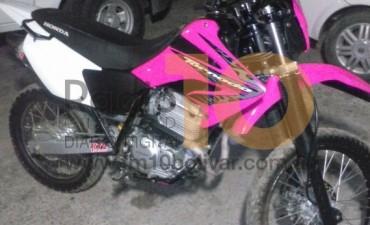 Secuestraron una moto que sería robada