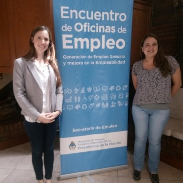 La oficina de empleo participó de una jornada en La Plata