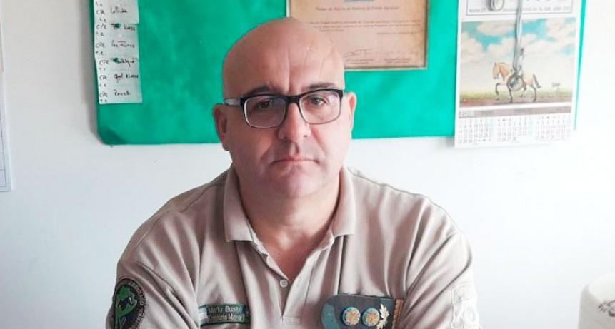 Mario Busto dejó la Coordinación de Patrullas con una excelente gestión