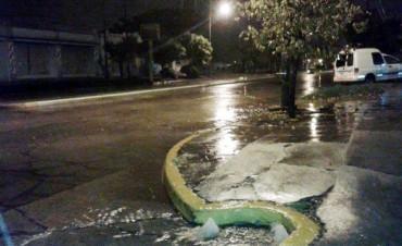 Más de 100 milímetros acumulados  fue la marca tras las lluvias registradas