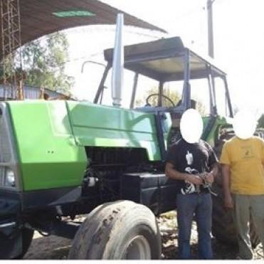 Robaron un tractor Deutz 120 de un campo ubicado en cercanías a Villa Sanz