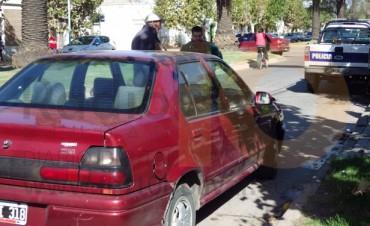 Sigue la racha: Impacto entre dos autos en la avenida Lavalle