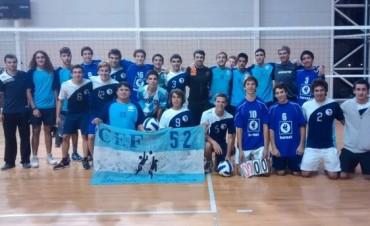 Encuentro entre el Club Ciudad de Bolívar y el CEF Nº 52 de Villegas