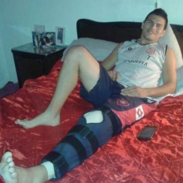 """""""Tengo ocho meses de recuperación, pero solo pienso en volver a las canchas"""""""