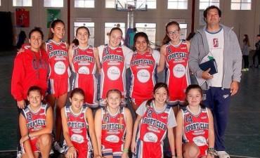 Básquet Femenino: Sport Club recibió a Estudiantes