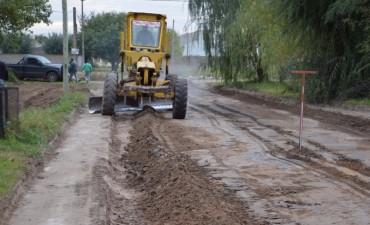 El Programa Pavimento Contínuo llegó a barrio la Ganadera