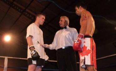 Boxeo: Federico Dotti se trajo el Titulo Regional desde Coronel Suarez
