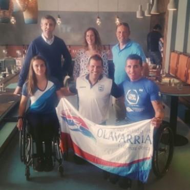 Deporte y Política: Dos bolivarenses se juntaron en República Checa
