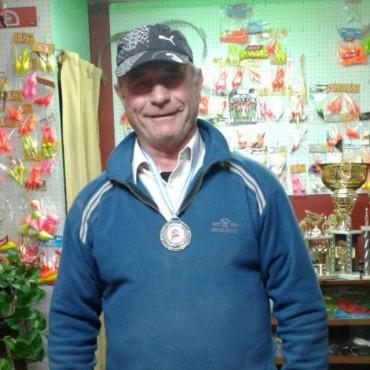 Torneo de Pesca en Junín: Jorge Angiuli terminó segundo