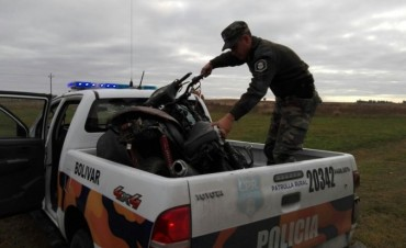 El CPR secuestró dos motocicletas