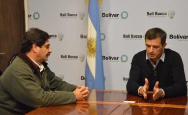 El intendente se reunió con el ministro de Agroindustria, Leonardo Sarquís