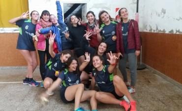 Cesto: El contingente de 'Cadetes Femenino' ya está en San Luis