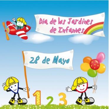 28 de Mayo: Feliz Día de los Jardines de Infantes y Feliz Día Maestras Jardineras