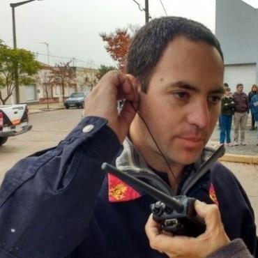 Bomberos Voluntarios de Bolívar concurrió a un principio de incendio en una vivienda de Hale