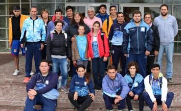 La Selección Argentina de Atletismo PC entrena en Bolívar y se realizan pruebas a deportistas