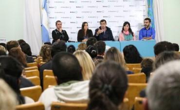 El Intendente se reunió con los pre adjudicados de lotes con servicios para informarle detalles del programa