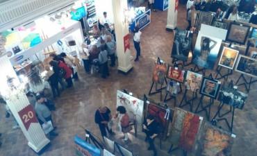Alumnos de los Talleres de Adultos Mayores viajaron a Buenos Aires a la muestra ENIARTE en el Palacio San Miguel