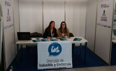 El equipo de industria y comercio de Bolívar presente en la 'Exposición de Parques Industriales de la Provincia'