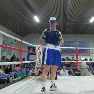 Espectacular 'Festival de Boxeo' en Coronel Suárez organizado por Walter Cabral