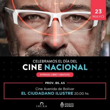 Se proyecta hoy martes 23: 'El Ciudadano Ilustre' en el Avenida festejando el 'Día del Cine Nacional'