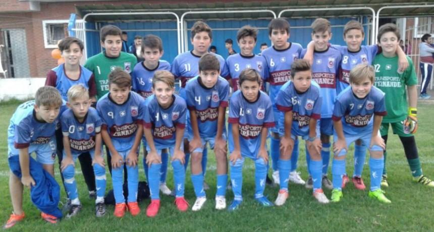 Fútbol: Se jugo la 3º fecha del Torneo Apertura de Divisiones Inferiores