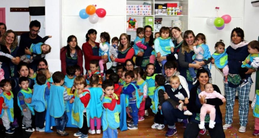 El Jardín Maternal Alicia Moreau De Justo festejó un nuevo aniversario