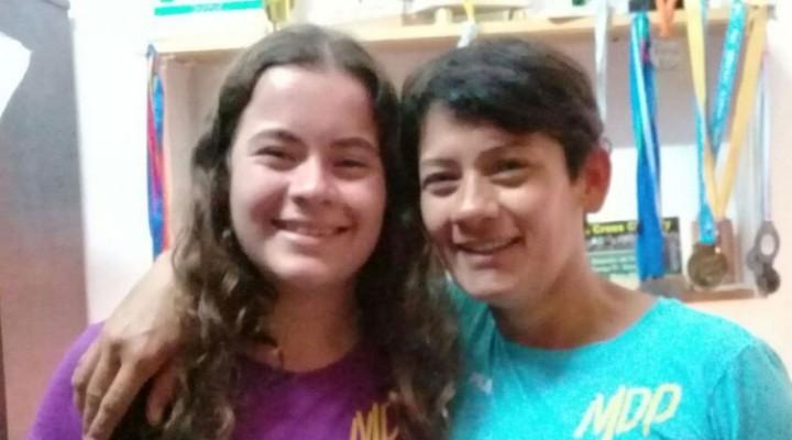 Atletismo: Maca Abel y Rosalía Pereyra corredoras locales