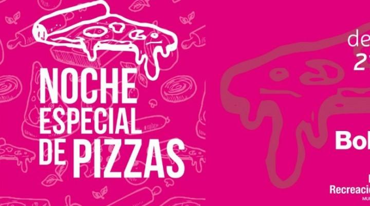 Este sábado habrá una Noche Especial de Pizzas