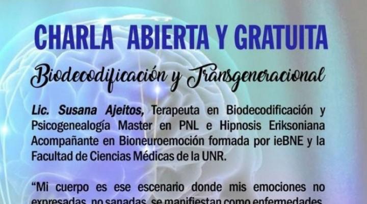 Se realizará una disertación sobre Biodecodificacion