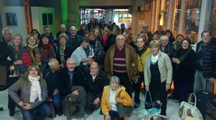Jubilados de IPS viajaron a Carlos Paz