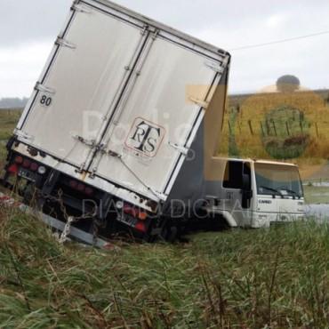 Despiste de un camión