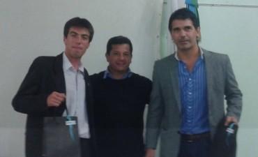 Sergio Viola expuso en el Salón Verde de la municipalidad