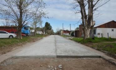 Sigue el Pavimento Contínuo en Pompeya