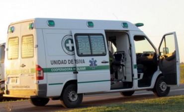 Del Valle: se accidentaron dos bolivarenses en la ruta nacional 205