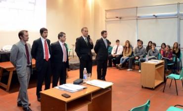 Importante marco de público en un nuevo simulacro de Juicio por Jurados en Olavarría