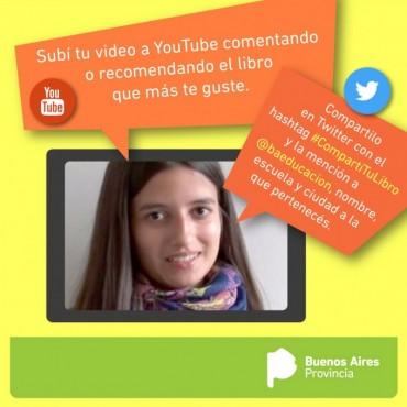 Comienza la campaña para booktubers de la provincia de Buenos Aires