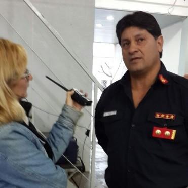 """Bazán: """"En el 2017 me retiro de Bomberos, pero seguiré en la Comisión Directiva porque Bomberos es mi vida y nunca lo voy a dejar"""""""
